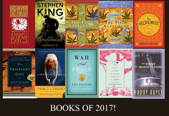 BOOKS OF 2017
